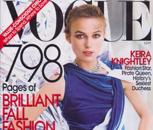 Capa da edição de setembro de 2008 da 'Vogue' (Foto: Divulgação)