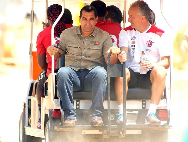 Zinho e Dorival Junior, Treino Flamengo (Foto: Mauricio Val / Vipcomm)