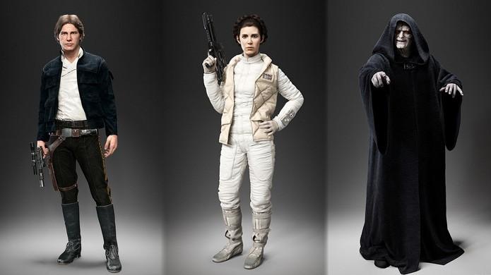 Han Solo, Princesa Leia e o Imperador Palpatine são anunciados para Star Wars: Battlefront (Foto: Reprodução/Eurogamer)