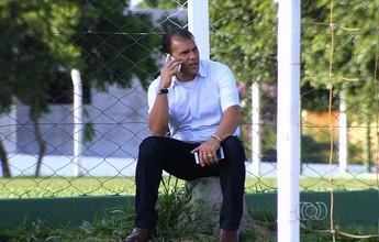 Harlei espera fechar com até quatro reforços para o Goiás nesta semana