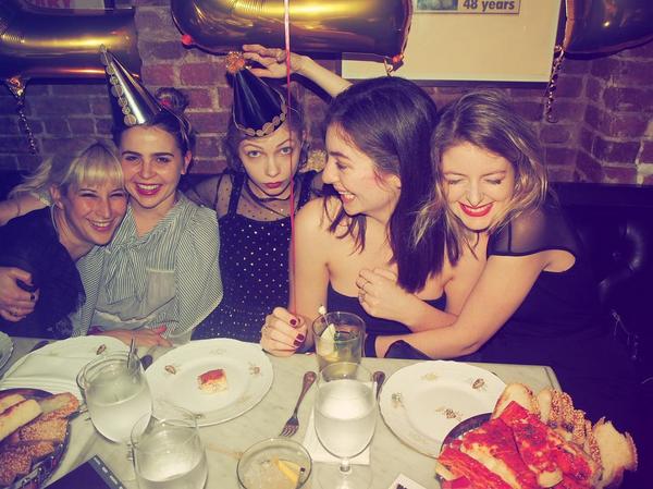 A festa de aniversário de Lorde (Foto: Instagram)