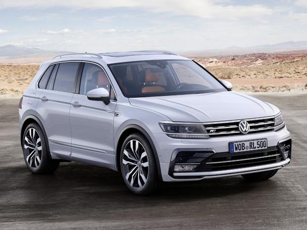 Nova geração do Volkswagen Tiguan terá estreia em Frankfurt (Foto: Divulgação)