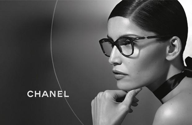 Laetitia Casta para Chanel eyewear (Foto: Divulgação)