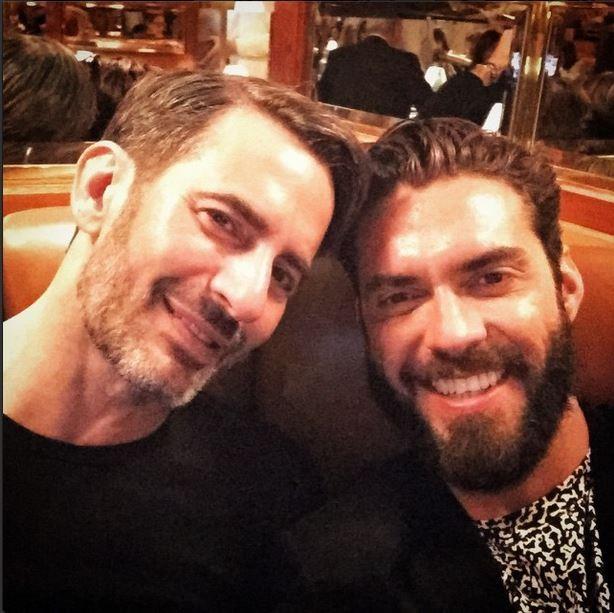 Marc Jacobs e Lorenzo Martone (Foto: Reprodução do Instagram)