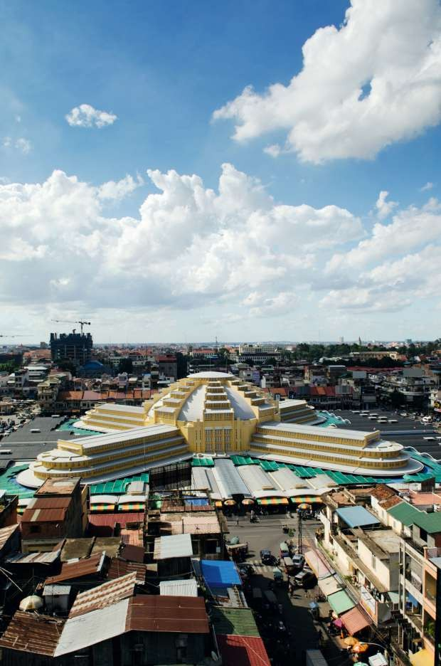Mercado Central de Phenom Penh - Camboja (Foto: Thinkstock)