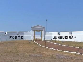 Forte Junqueira, no Mato Grosso do Sul (Foto: TV Morena/Reprodução)
