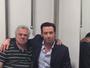 Hugh Jackman encontra dublador brasileiro de Wolverine