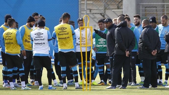Grêmio grupo Roger Machado  (Foto: Lucas Uebel/Grêmio)