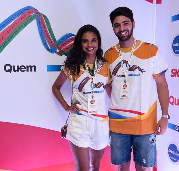 Aline Dias e Rafael Cupello (Foto: Selmy Yassuda/ QUEM)