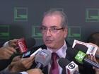 Cunha recebe ordem para processo de impeachment contra Michel Temer