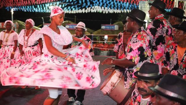 Rodas de tambor de crioula vão encerrar a 1ª Feira de Cultura  Afro-Brasileira do Maranhão (Foto: De Jesus/O Estado)