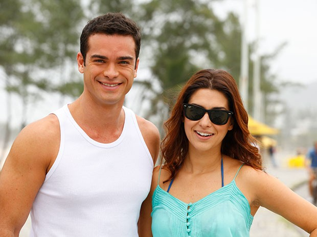 Fernanda Paes Leme e Sidney Sampaio (Foto: Salve Jorge/TV Globo)