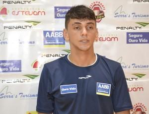 João Cláudio espera conquista título na AABB (Foto: Wescley Camelo)