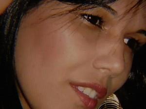 Vendedora Valéria Souza da Silva morreu ao fazer cirurgia plástica em Goiânia, Goiás (Foto: Reprodução/TV Anhanguera)