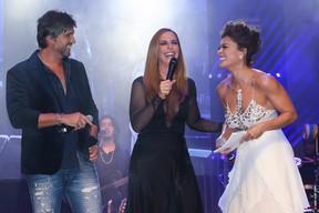 Leo, Ivete Sangalo e Juliana Paes em festa em Uberlândia, Minas Gerais (Foto: Manuela Scarpa/ Brazil News)