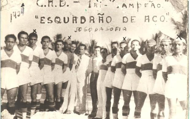 Jogo de 1939 entre CRB e CSA (Foto: Arquivo Museu dos Esportes)