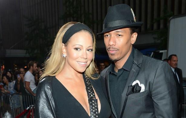 """Claro que Mariah Carey e Nick Cannon já haviam feito sexo antes de se casarem, em 2008. Porém, não um com o outro: eles só transaram pra valer depois de subirem ao altar. Antes disso, nas palavras do comediante, eles não tinham """"intimidade total"""". O casal recentemente confirmou que está em processo de separação já há alguns meses. (Foto: Getty Images)"""