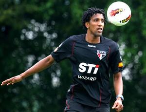 Cortez no treino do São Paulo (Foto: Luiz Pires / VIPCOMM)