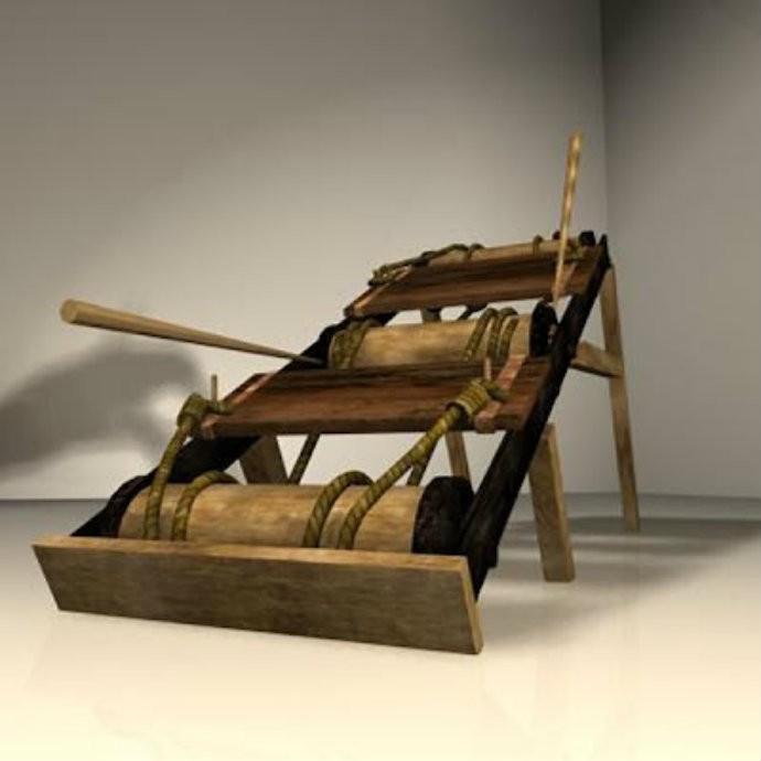 O Balcão da Tortura foi considerado o mais doloroso instrumento de tortura do período (Foto: Reprodução)