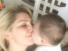Antônia Fontenelle se derrete pelo filho Salvatore: 'Meu anjo de luz'