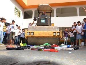 Campanha desarmamento infantil inicia nesta quarta (28), em Camboriú (Foto: Rafael Nunes/Divulgação)