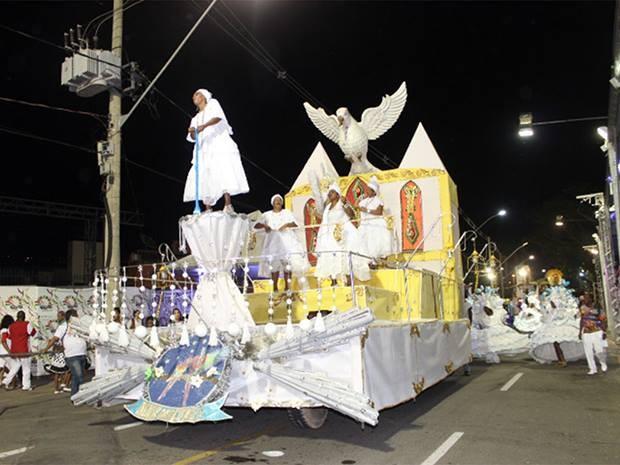 União das Cores Carnaval 2013 (Foto: Gil Velloso PJF/ Divulgação)