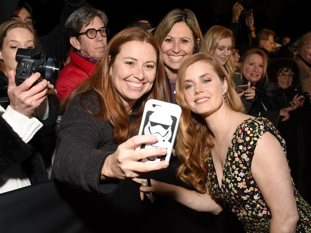 Amy Adams em festival e cinema em Palm Springs, Califórnia, nos Estados Unidos (Foto: Michael Kovac/ Getty Images/ AFP)