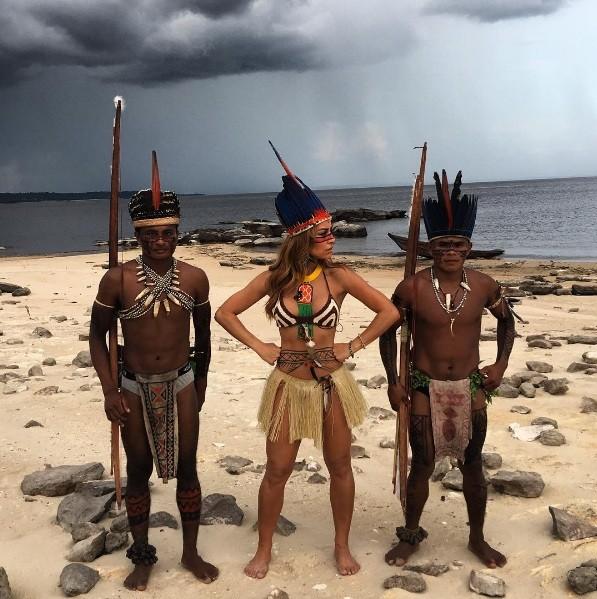 Sabrina Sato na Amazônia (Foto: Instagram)
