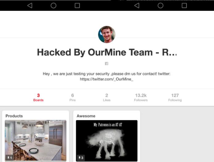 Contas de Zuckerberg em diversas redes sociais foram invadidas por terem a mesma senha (Foto: Reprodução/Pinterest)