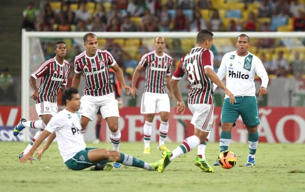 Fluminense e Goias (Foto: Ricardo Ayres / Photocamera)