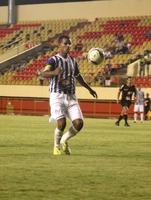 Gessé, atacante do Atlético Acreano (Foto: João Paulo Maia)