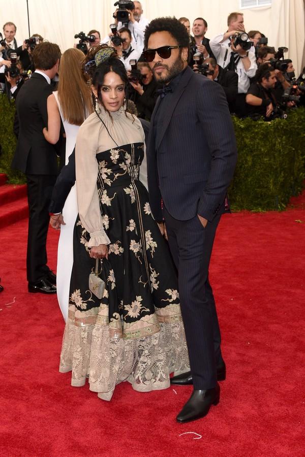Lenny Kravitz e Lisa Bonet foram casados por seis anos (Foto: Getty Images)