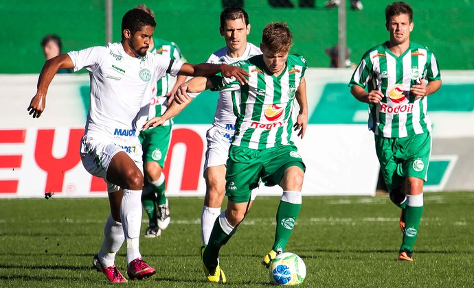 Juventude x Guarani jogo Série C (Foto: Luca Erbes / Futura Press)