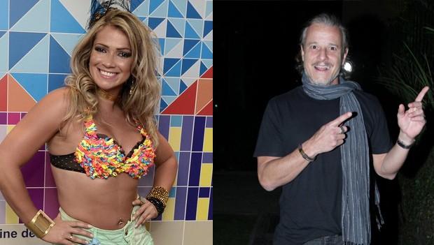 Fani Pacheco e Marcello Novaes (Foto: Roberto Teixeira/EGO e Marcello Sá Barretto/Ag. News)