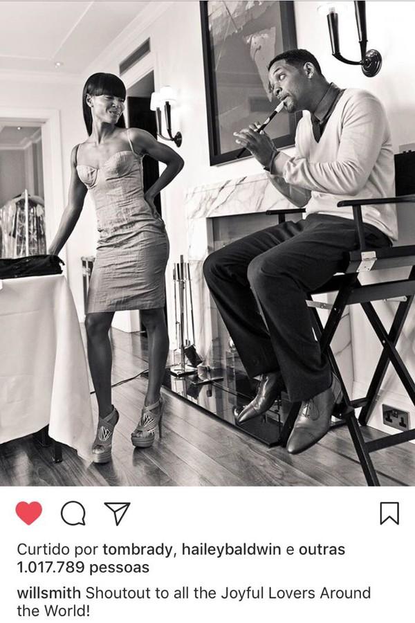Will Smith e Jada Pinkett-Smith (Foto: Instagram/Reprodução)