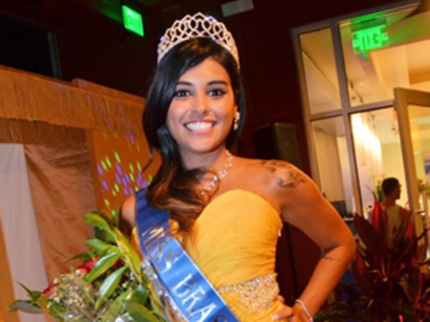 Mariana Freire, de 25 anos, ganhou o título de Miss Brasil Orlando 2014 (Foto: Vanessa Caetano Photograpy)