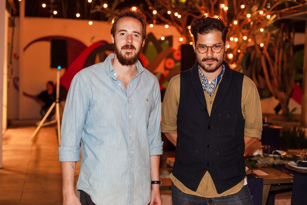 Stefan Weitbrecht e Victor Collor de Mello (Foto: Charles Naseh )