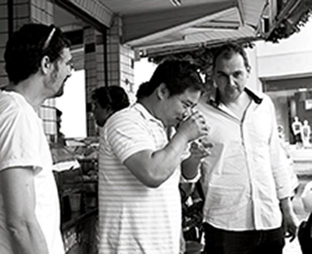 SAO PAULO, SP, BRASIL,  11-11-2012:  Fim de semana no Rio com os chefs do Mesa Tendencias. (Foto: Julia Rodrigues) (Foto: Divulgação)