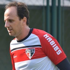 Rogério Ceni treino São Paulo (Foto: Site Oficial / saopaulofc.net)