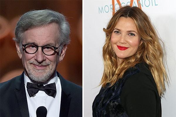 Steven Spielberg e Drew Barrymore (Foto: Getty Images)