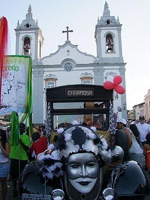Carnaval de Antigamente movimenta o centro de São João del Rei (Foto: Alzira Agostini Haddad / Atitude Cultural)
