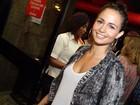 Nanda Costa e mais famosos vão a musical no Rio