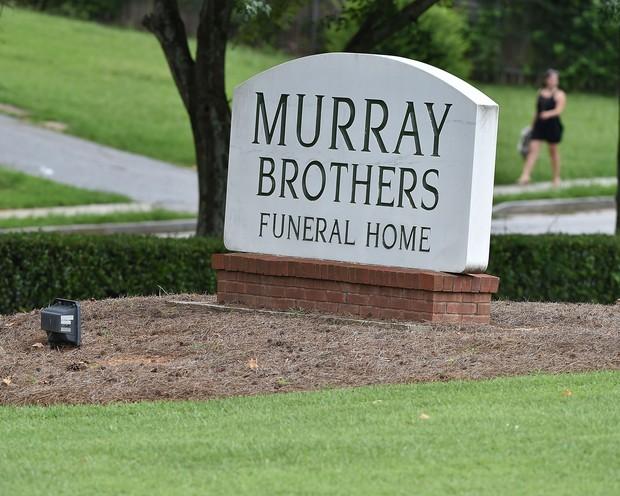 Funeral de Bobbi Kristina (Foto: Paras Griffin / GETTY IMAGES NORTH AMERICA / AFP)
