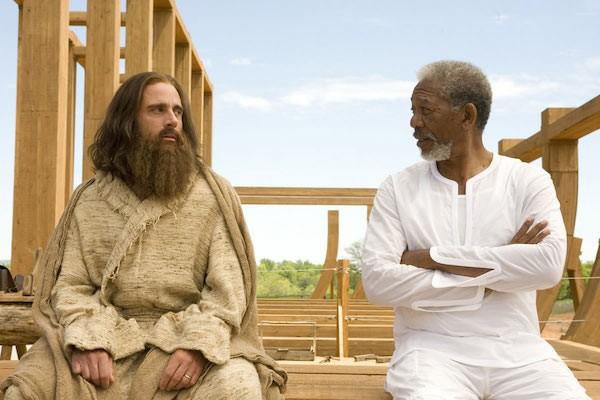 Morgan Freeman no papel de Deus (Foto: Reprodução)