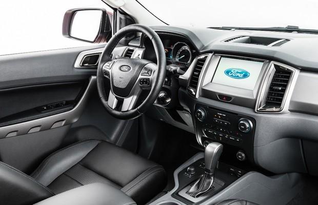 Interior da Ford Ranger (Foto: Divulgação)