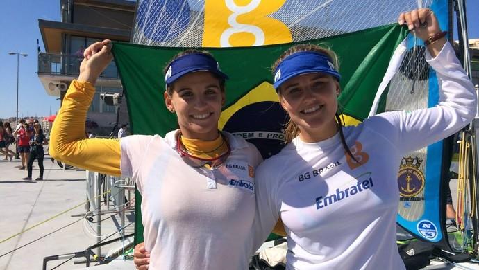 Martine Grael e Kahena Kunze campeãs mundiais de vela (Foto: Divulgação)