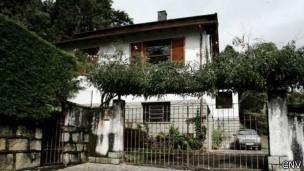 'Casa da morte' em Petrópolis (Foto: BBC/CNV)