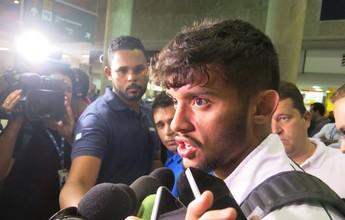 Flu volta ao Rio, e Scarpa minimiza ausência na Seleção: ''Vida que segue''