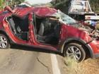 Mulher morre após capotagem em rodovia de São José do Rio Pardo