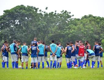 São José dos Campos FC treino (Foto: Danilo Sardinha/GloboEsporte.com)